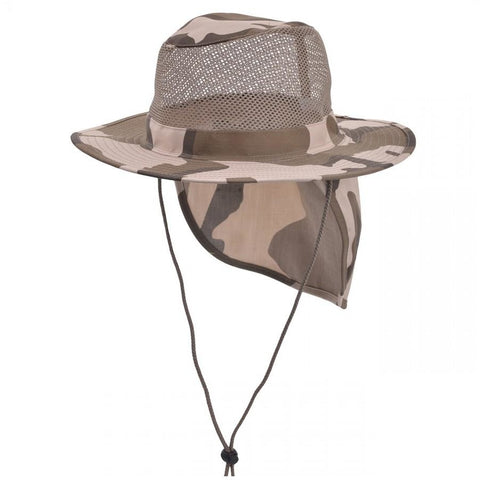 Summer Boonie Mesh Bucket Flap Hats Wholesale-7Colors
