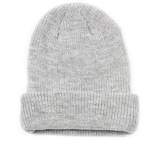 Ultra Soft Woven Knit Cuffed Beanie