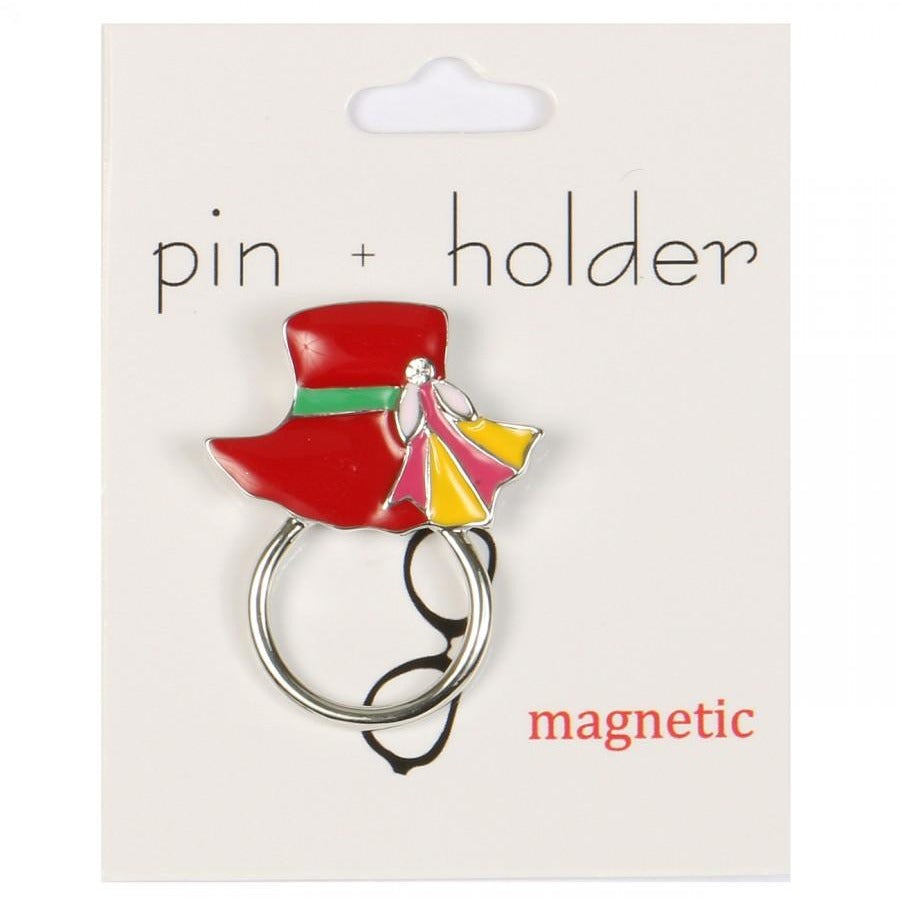 PIN + HOLDER - Hat Magnetic Decorative Pin & Eyeglass Holder