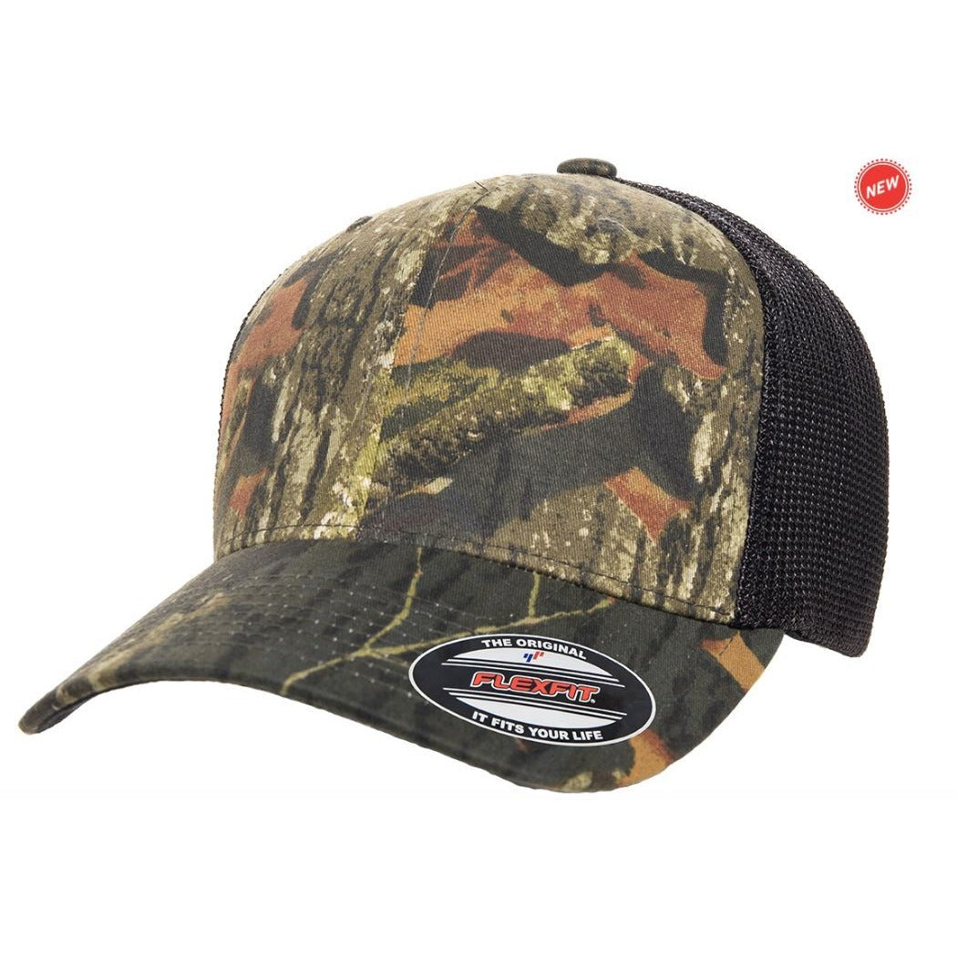 Flexfit Mossy Oak Stretch Mesh