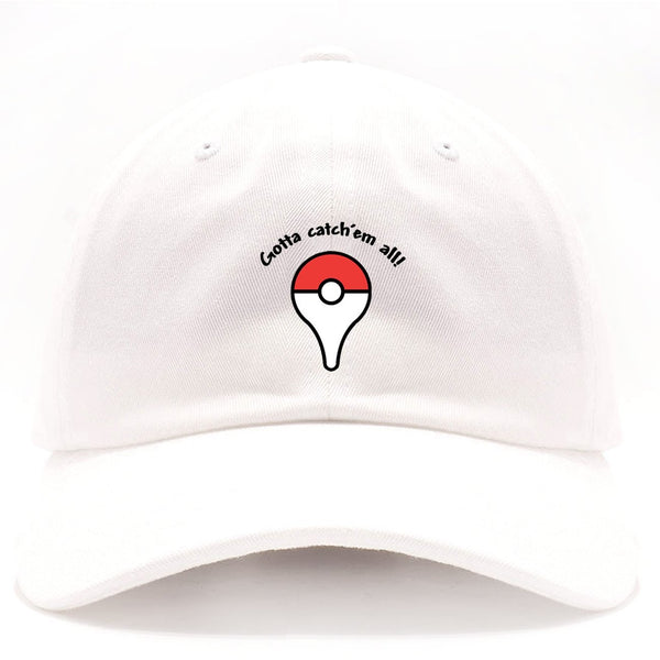 Exclusive Embroidered Pokemon Go Dad Hat