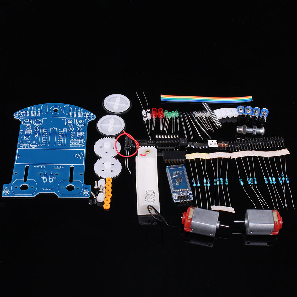 Diy Electronics Kit Remote Control Intelligent Car Hobby Pixie Electronic Kits Bluetooth
