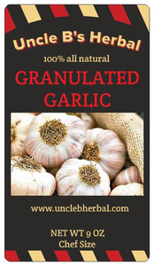 Uncle B's 100% All Natural Granulated Garlic