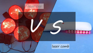 Laser Caps vs Laser Combs: What is BEST for Hair Regrowth?