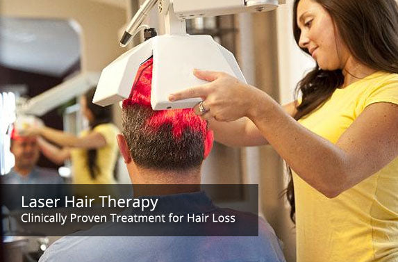Clinical laser hair therapy