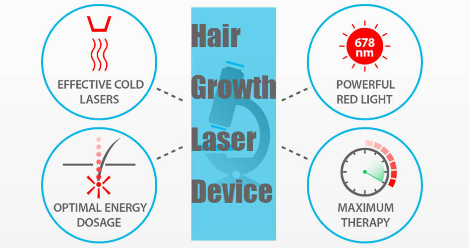 Hair Growth Laser Device Treatment
