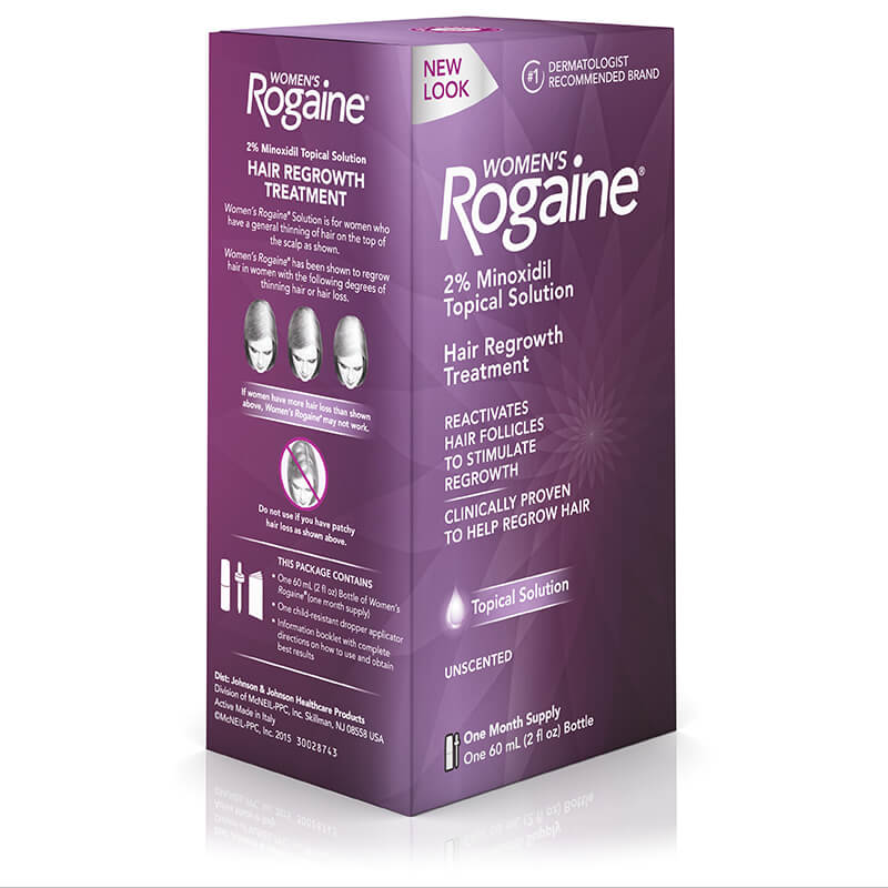 Minoxidil Rogaine medication treatment of hair loss