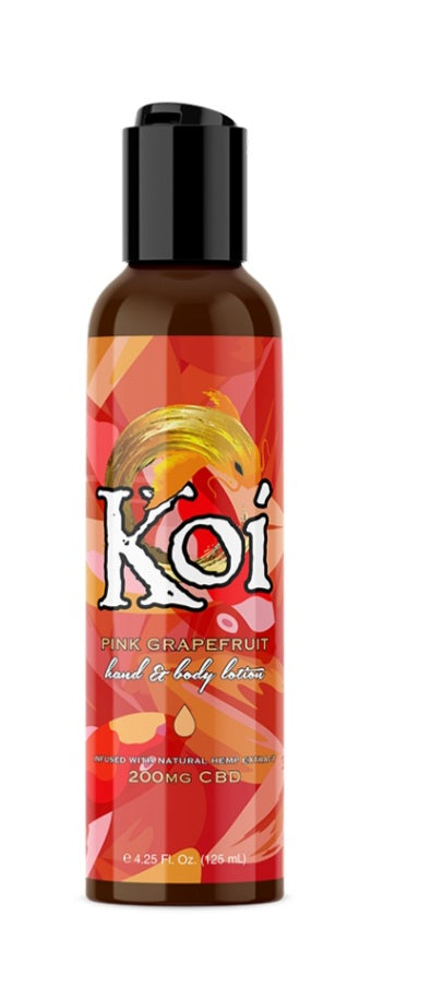 Koi Hemp Extract Lotion