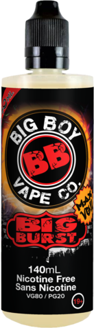 BIG BURST-BIG BOY VAPE CO- 140ML