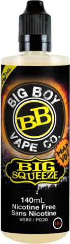 BIG SQUEEZE-BIG BOY VAPE CO- 140ML