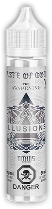 TASTE OF GODS  BY ILLUSIONS- 60ML