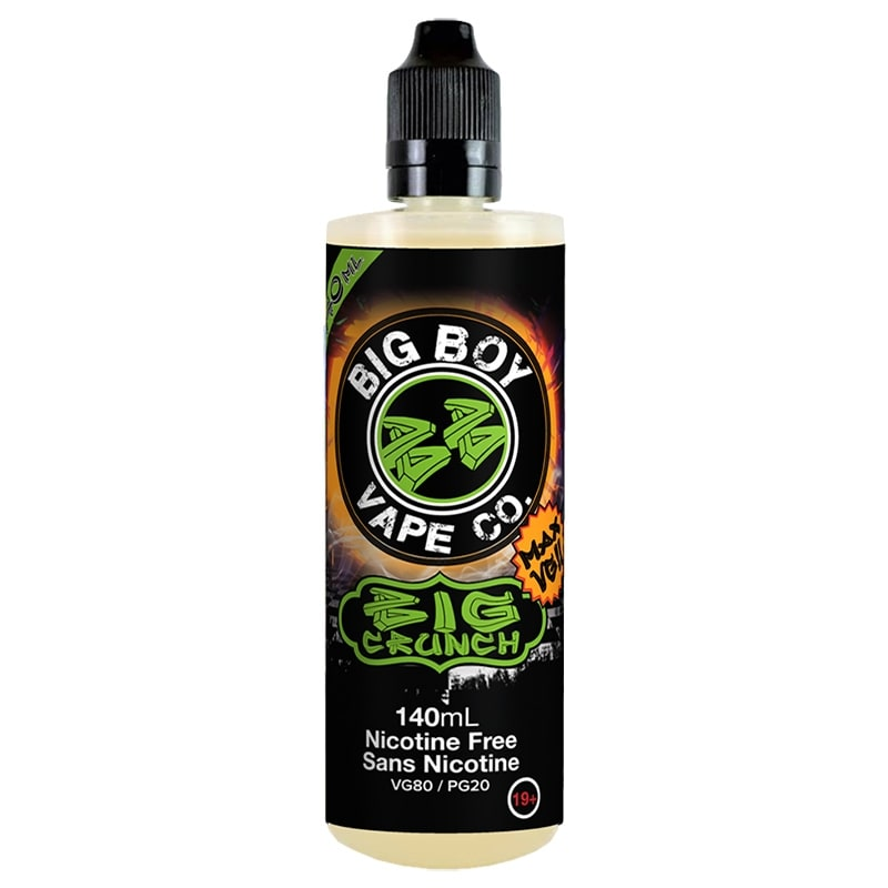 BIG CRUNCH-BIG BOY VAPE CO- 140ML