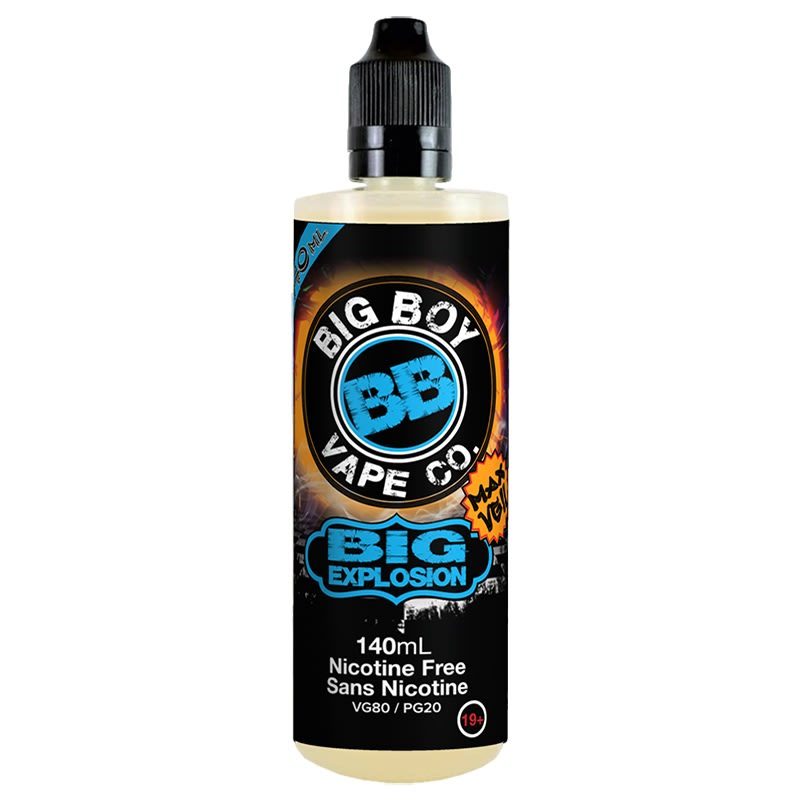 BIG EXPLOSION-BIG BOY VAPE CO- 140ML