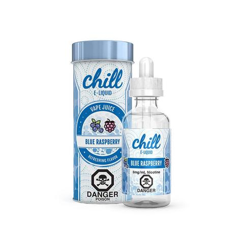CHILL E-LIQUID-BLUE RASPBERRY 60ML
