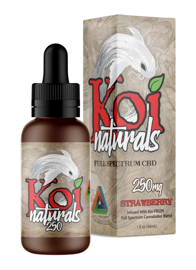 KOI  NATURALS- STRAWBERRY