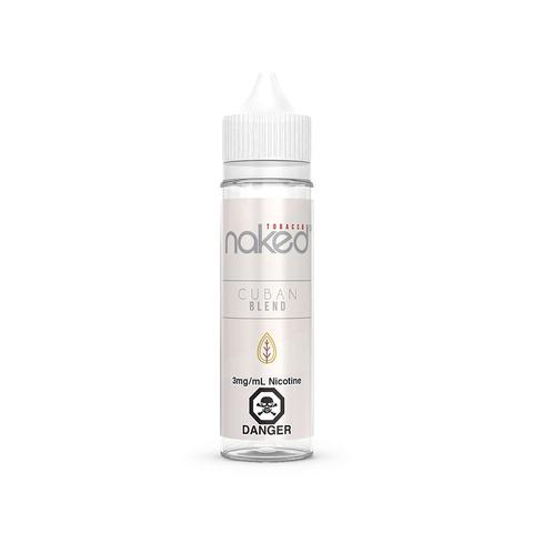 NAKED 100 - CUBAN BLEND - 60ML