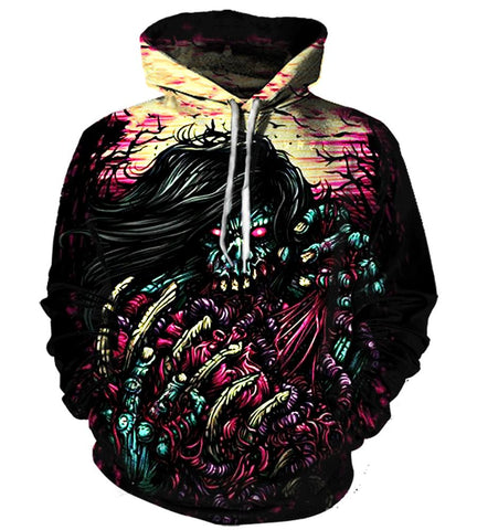 All Over Print Hoodie/Tee/Sweatshirt/Tank Top - Killswitch Engage #2 - TheSevenShop