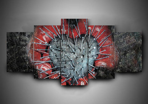 Killswitch Engage (2 Styles) - 5-Piece Canvas Wall Art