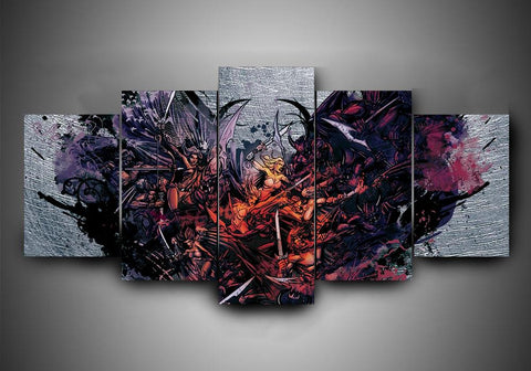 Pop Evil - 5-Piece Canvas Wall Art