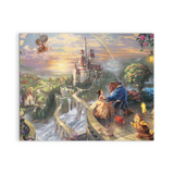 Beauty And The Beast (3 Styles) - Framed Canvas Wall Art - MyStorify