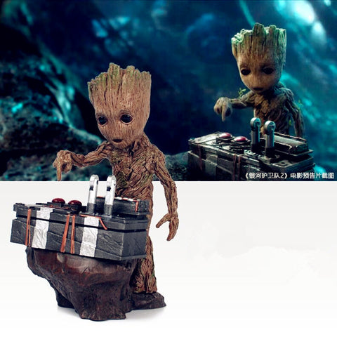 Action Figure - Guardians Of The Galaxy - Groot Controls The Bomb - MyStorify