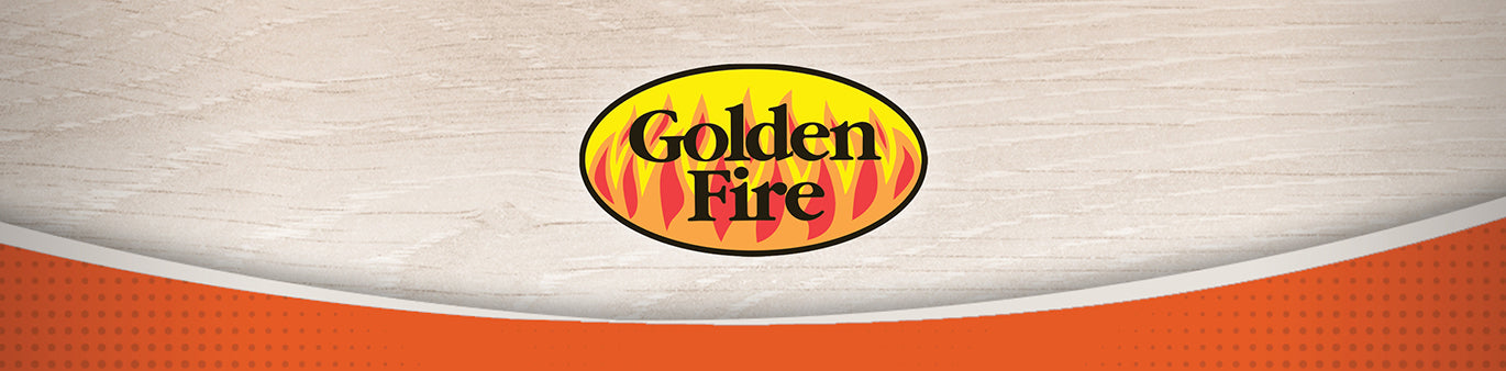 Golden Fire Wood Fuel Pellets and Fire Starters