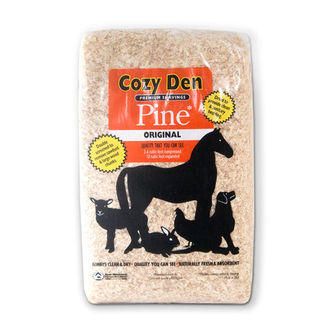 Cozy Den Premium Pine Animal Bedding Shavings