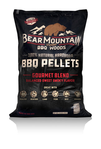 Bear Mountain BBQ Gourmet Blend BBQ Pellets