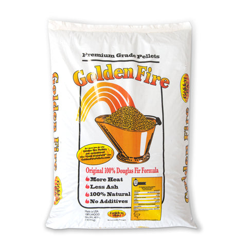 Golden Fire Premium Wood Fuel Pellets