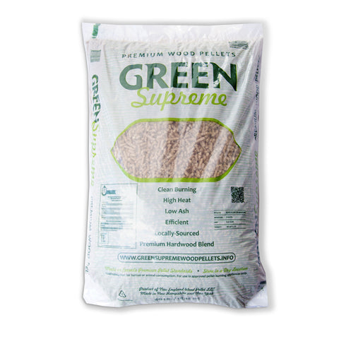 Green Supreme Premium Wood Fuel Pellets