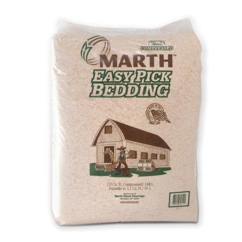 Marth Premium Easy Pick Animal Bedding Wood Shavings