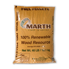 Marth Premium Wood Fuel Pellets