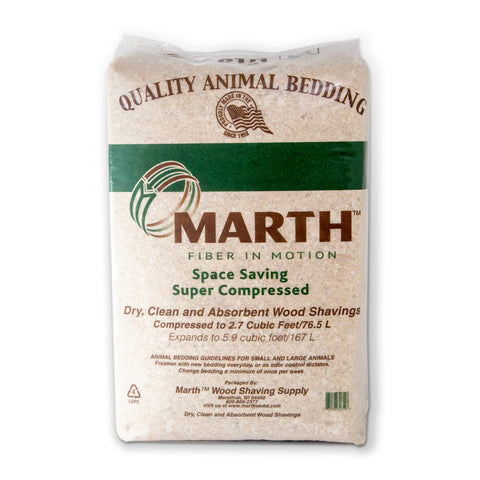 Marth Premium Pine Shavings Animal Bedding