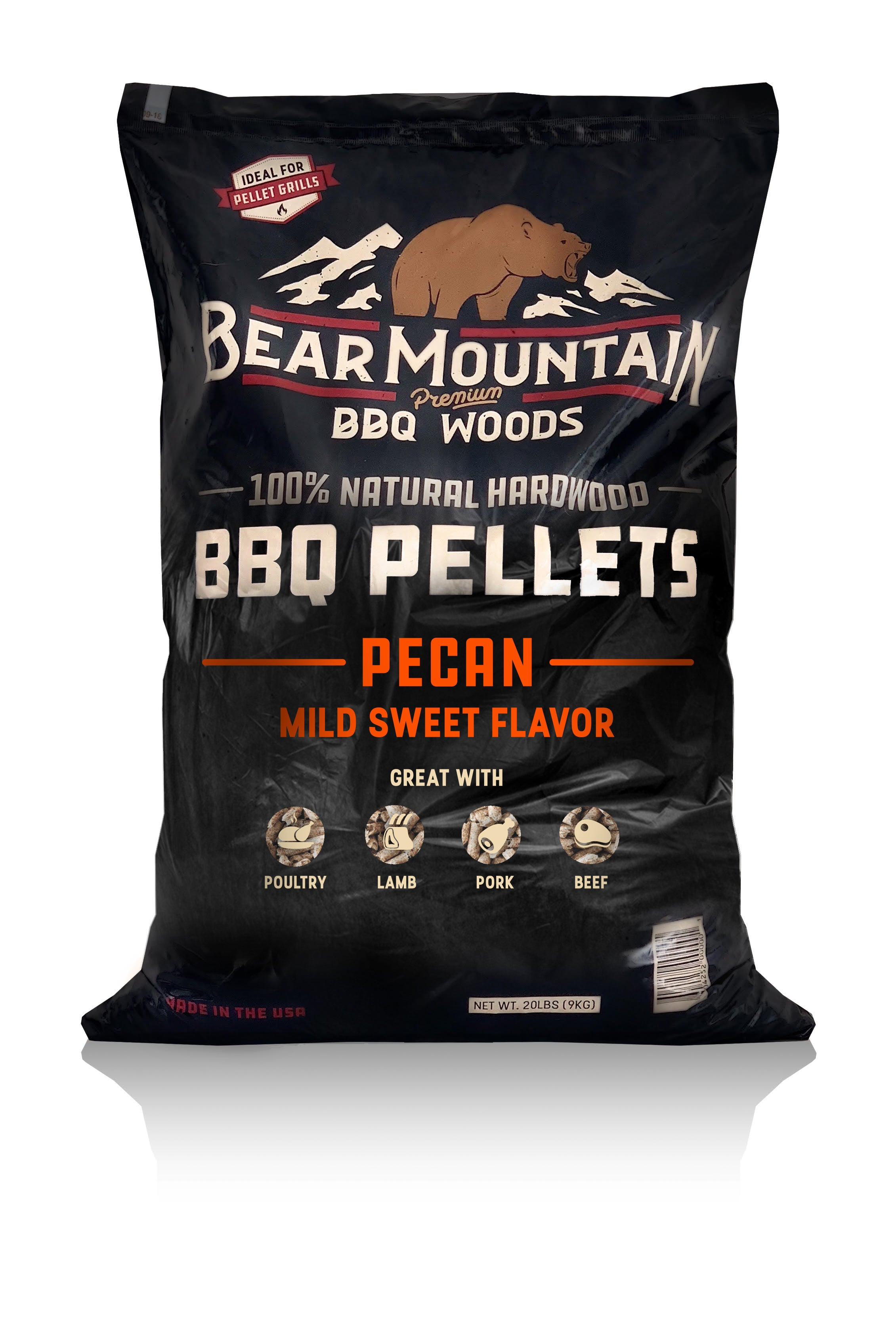 Bear Mountain BBQ Pecan BBQ Pellets
