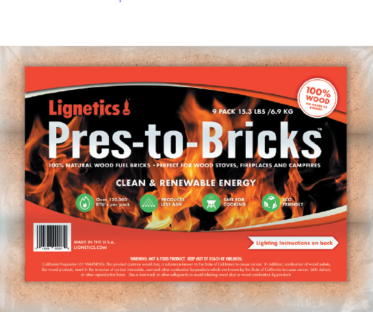 Lignetics Pres-to-Bricks™ 9-Pack