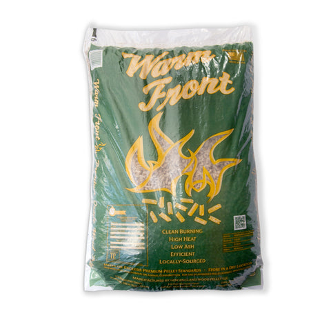 Warm Front Premium Wood Pellet Fuel