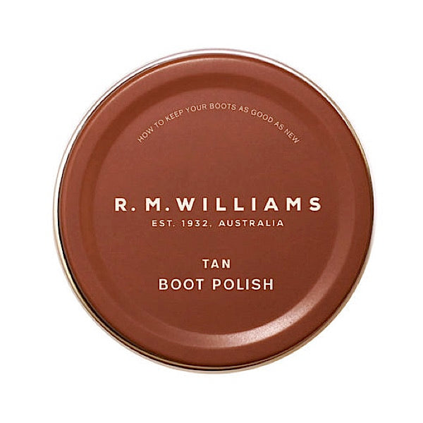 R.M.Williams Stockmans Boot Polish Tan