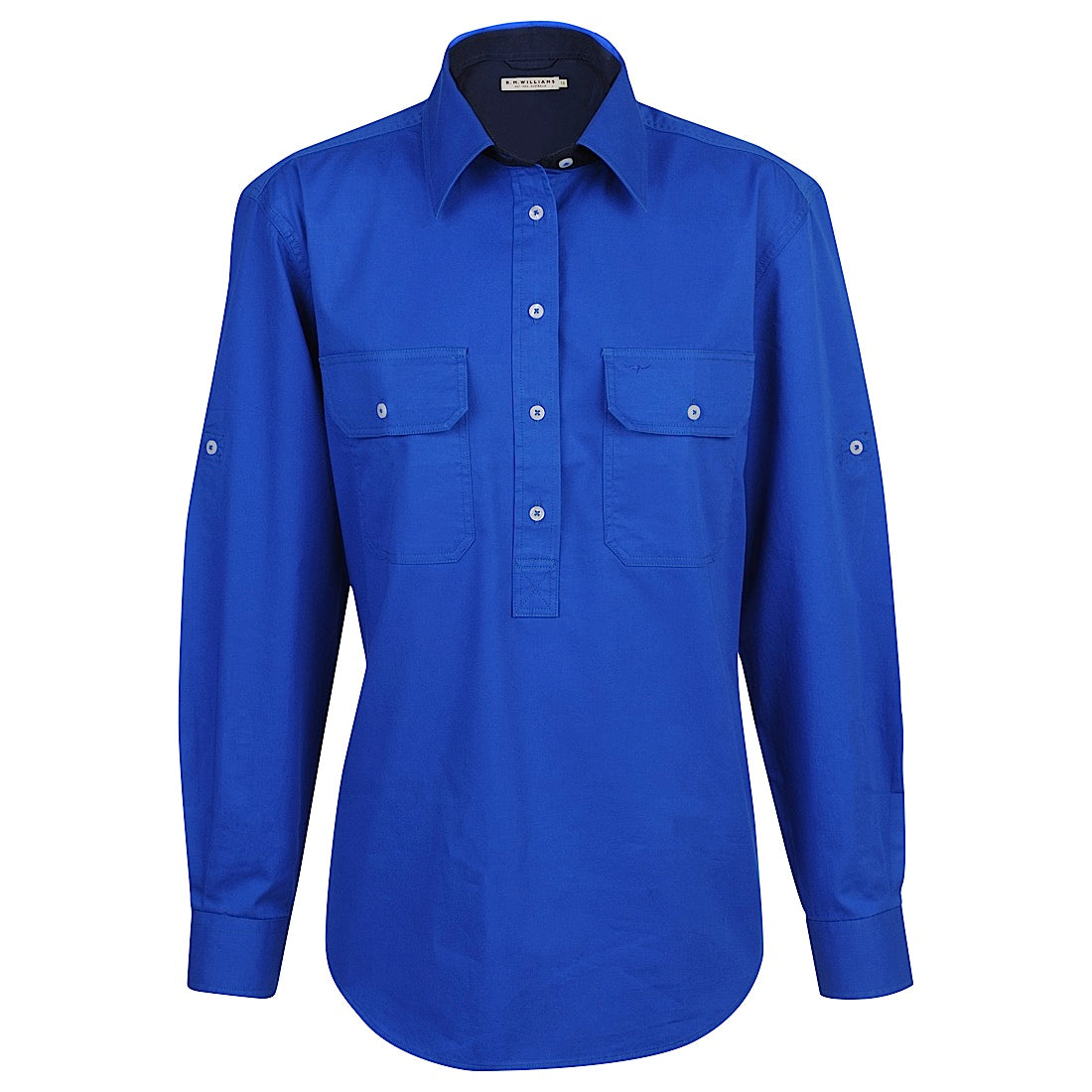 R.M.Williams  Broken Hill Shirt Royal
