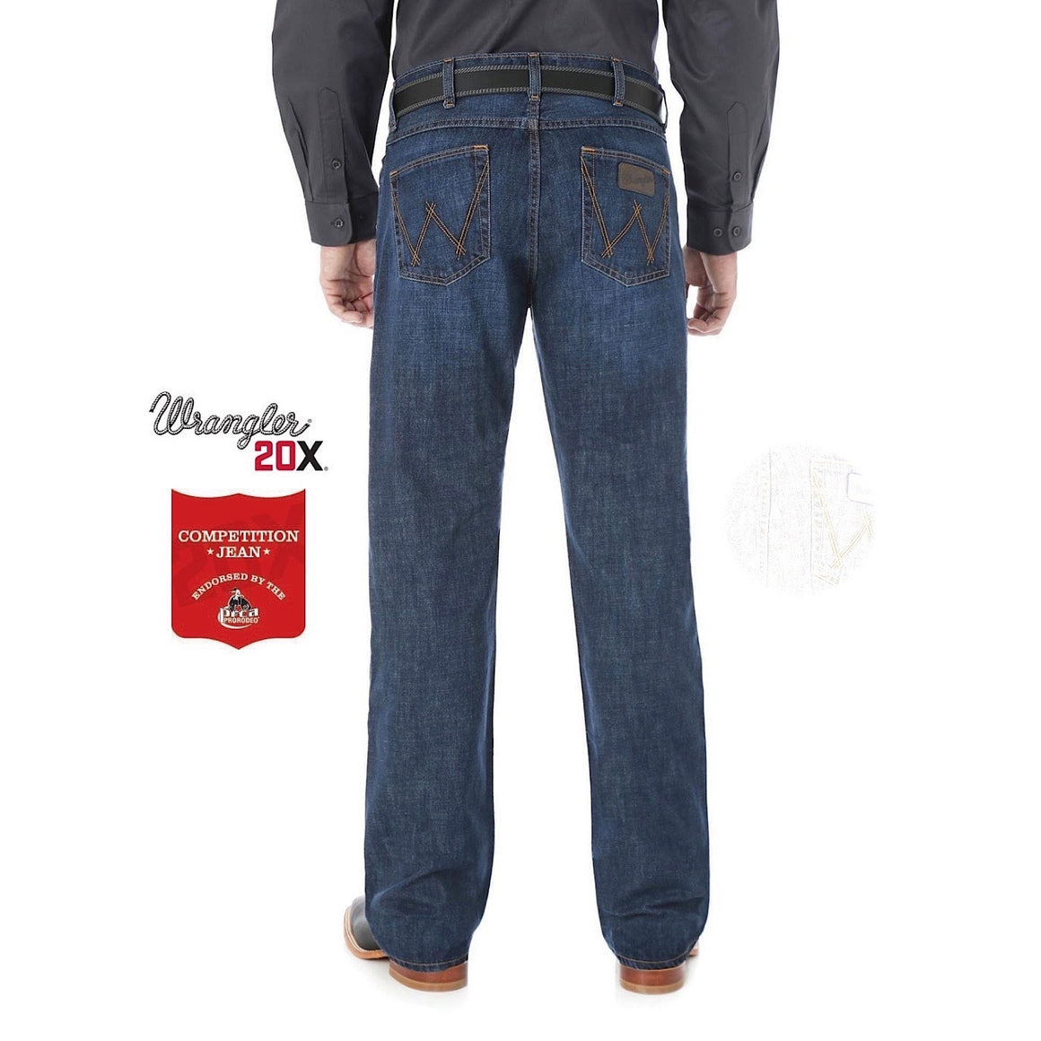 Wrangler Mens 20X Competition Slim Fit Jean Dillon 02MWXDL