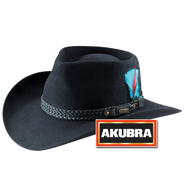 Akubra Snowy River Black