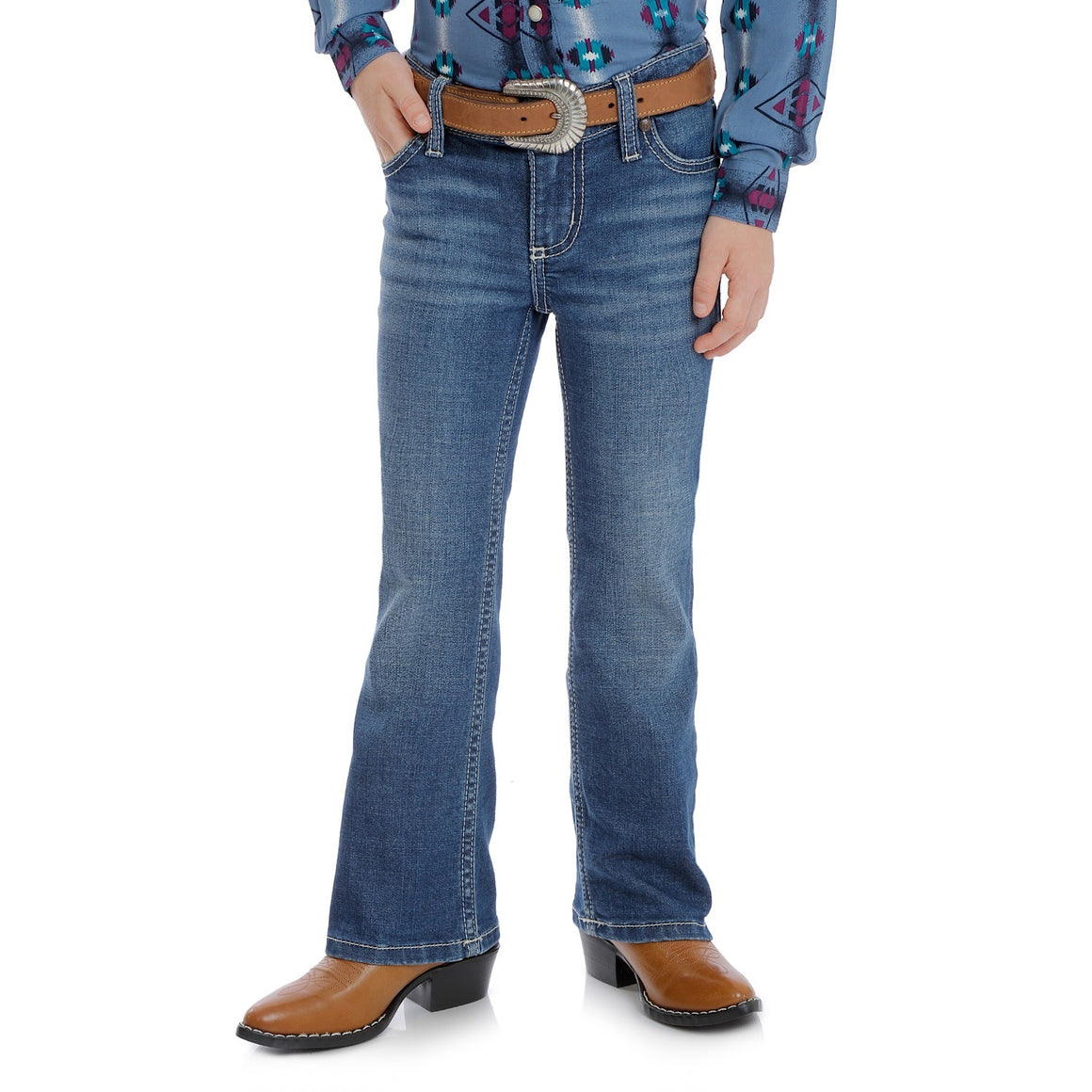 Wrangler Girls Retro Boot Cut Jean Griffin