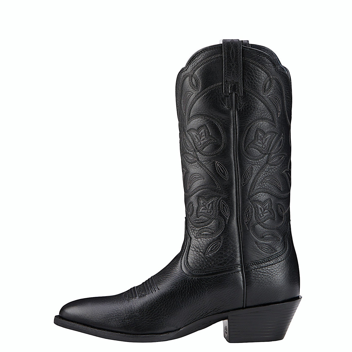 Ariat Womens Western R Toe Black