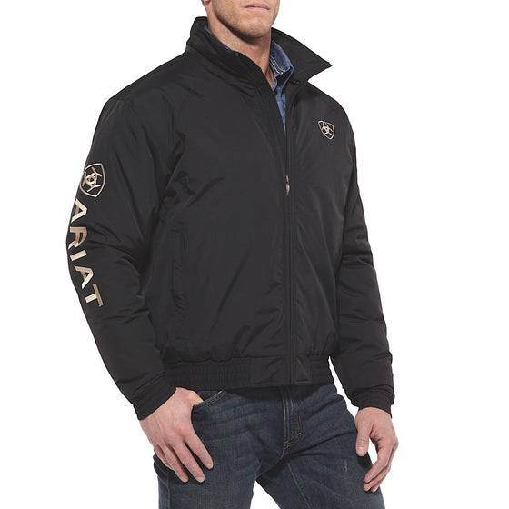 Ariat Mens New Team Logo Insulated Jacket Black