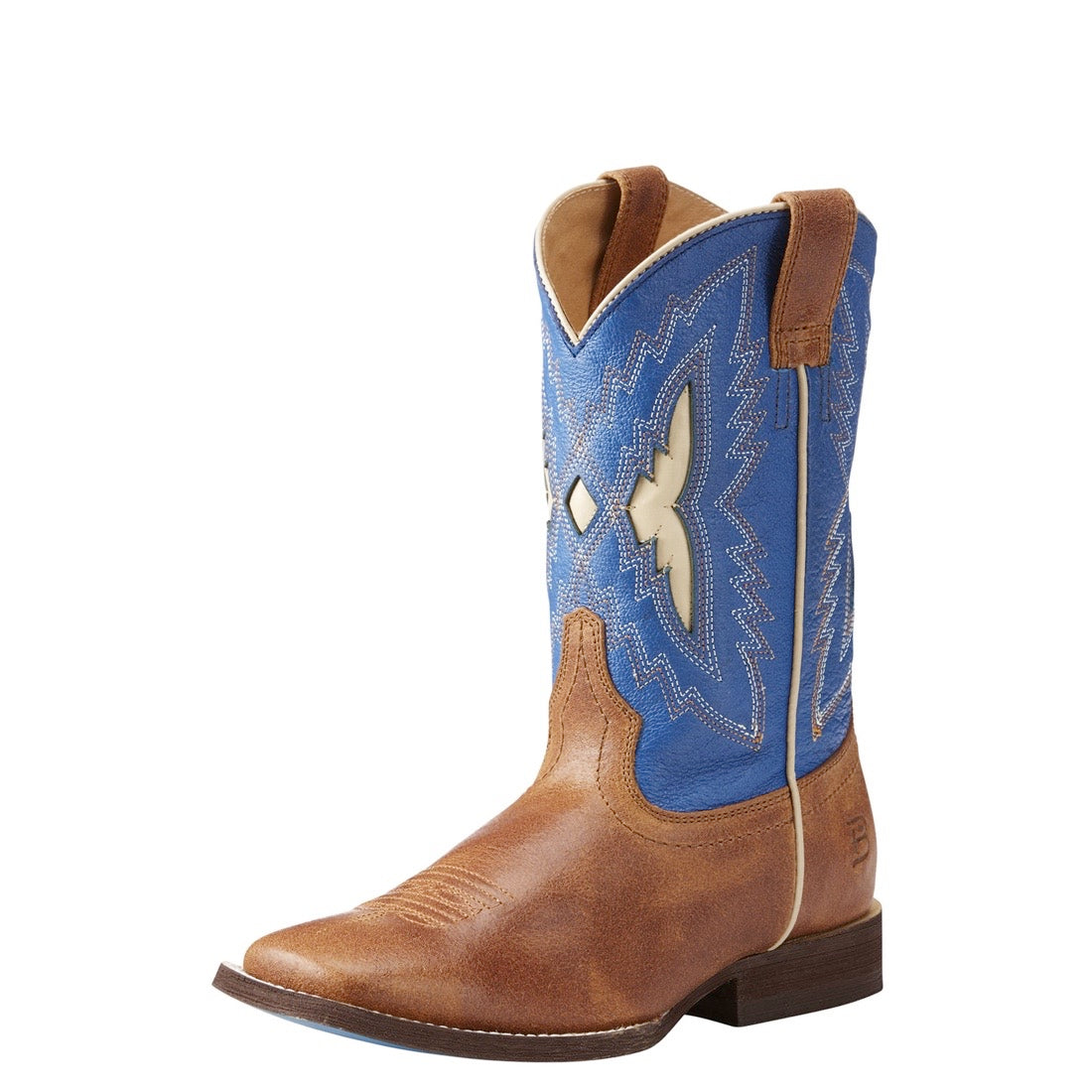 Ariat Kids Relentless Top Notch Butterscotch/Milky Blue