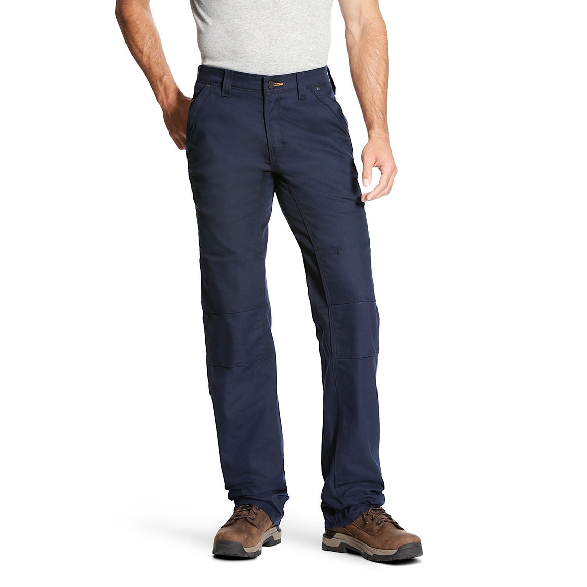 Ariat Mens Rebar M4 Low Rise DuraStretch Canvas Work Pants