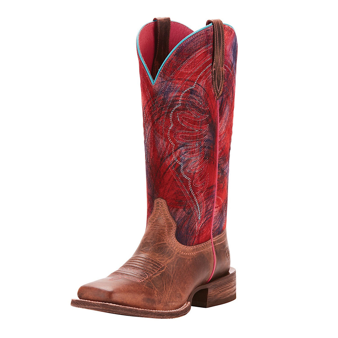 Ariat Womens Circuit Shiloh Weathered Tan/Paint