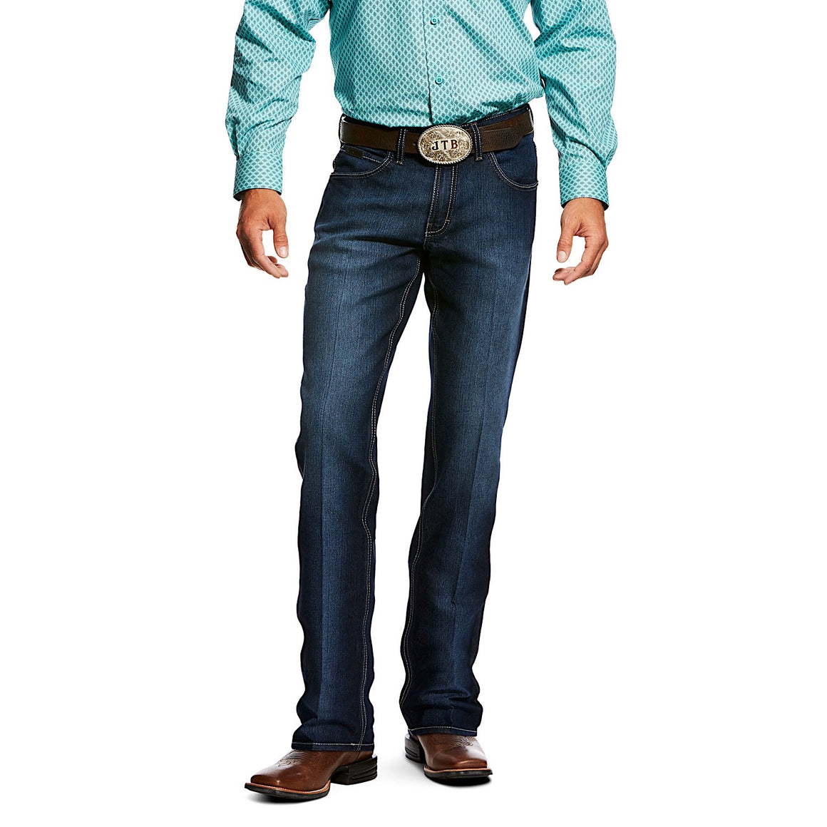 Ariat Mens Relentless Stretch Original Fit Chance Jeans Clayton