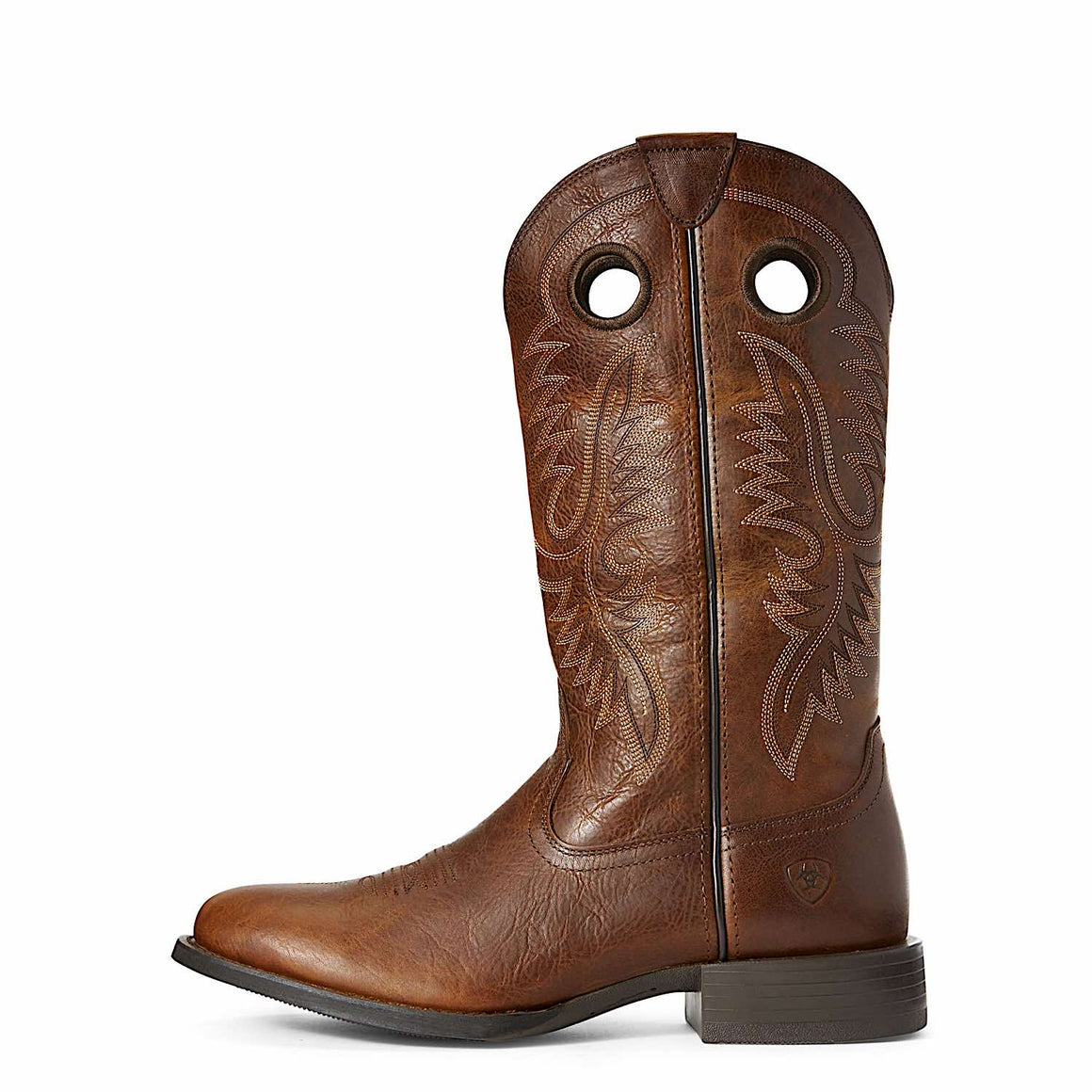 Ariat Mens Sport Big Hoss Western Boot Brown Patina