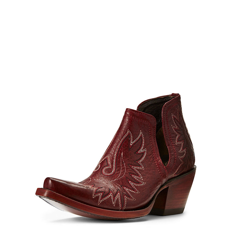Ariat Womens Dixon Western Boot Sangria