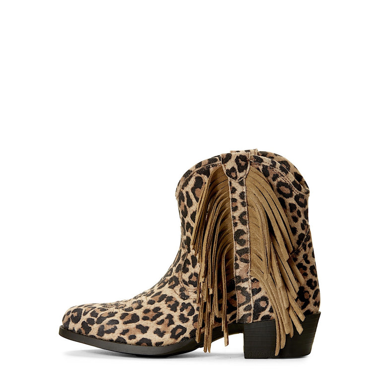 Ariat Girls Duchess Western Boot Leopard Print